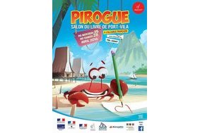 Pirogue 2018, Salon du livre de Port-Vila